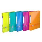 Boîte d'archivage Colorlife Dos 40 mm 24 x 32 cm