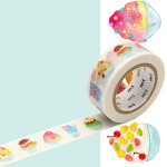 Masking Tape fab Coupes glacées 18 mm x 3 m