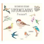 Livre Dessiner des oiseaux supermignons en couleur