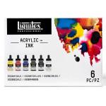 Encre acrylique Set Essentielles ink! 6 x 30 ml