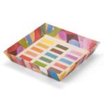 Vide-poches 18 x 18 x 3.2 cm Une palette de Paul Klee