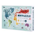 Puzzle MyPuzzle Monde 252 pièces