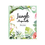 Livre Jungle à l'aquarelle