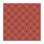 Coupon de tissu Wax imprimé Maya 8 - 150 x 160 cm