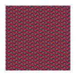 Coupon de tissu Wax imprimé Tiki 8 - 150 x 160 cm