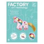 Bijou à illuminer Factory E-textil Sweet licorne