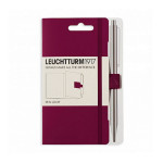 Attache stylo pour carnet Pen Loop Violet Port Red