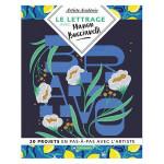 Livre Le lettrage avec Manon Bucciarelli