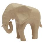 Eléphant d'Afrique 18,5 x 12,5 x 15,5 cm