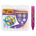 Craie à la cire Multi usages Multi-surfaces Kids Duo Magix 8 pcs