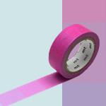 Masking Tape 1P Dégradé fluo rose vers bleu 15 mm x 7 m