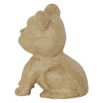 Bulldog assis 9 x 7,5 x 6 cm